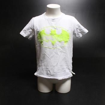 Dětské tričko Name it se žlutý potiskem
