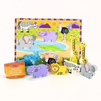 Dětské dřevěné puzzle Mellisa & Doug 13722