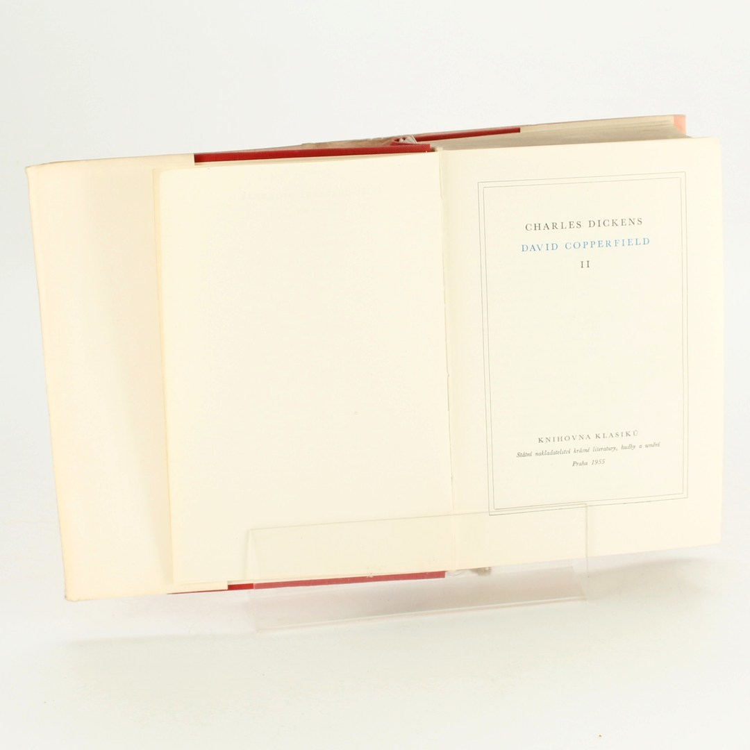 Kniha Charles Dickens: David Copperfield II