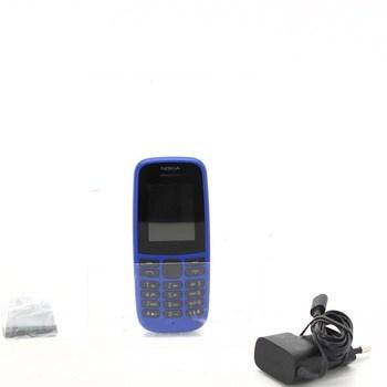 Mobilní telefon Nokia 105, modrý