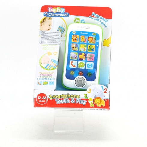 Dětský telefon Clementoni Touch & Play ITAL
