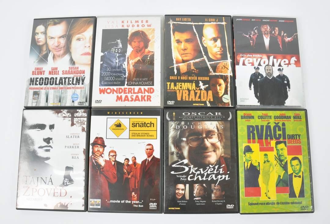 Sada 8 DVD Tajemná vražda, Tajná zpověď,