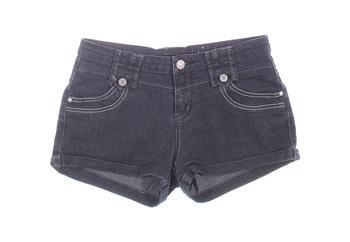 Dámské šortky Okay džínové černé