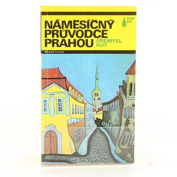 Kniha Náměsíčný průvodce Prahou P. Rut