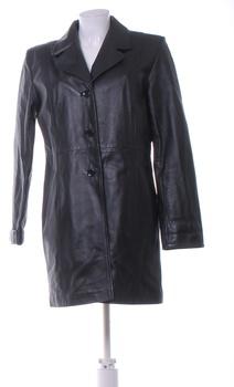 Dámský kabát calypso černé barvy