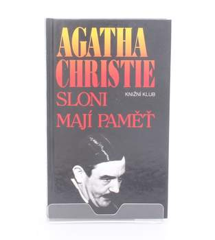 Kniha Agatha Christie: Sloni mají paměť