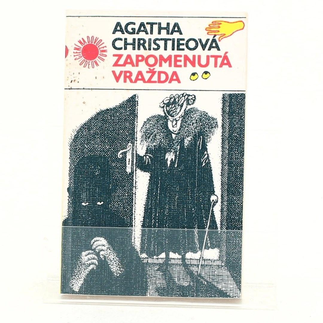 Kniha Agatha Christie: Zapomenutá vražda