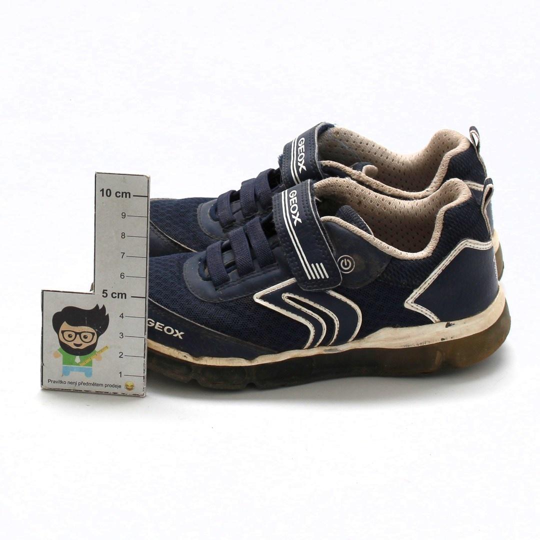 Dětská obuv Geox J Android modrá