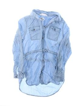 Dětská košile pro dívky H&M modrá
