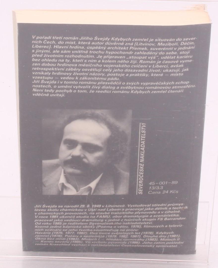 Kniha Jiří Švejda: Kdybych zemřel