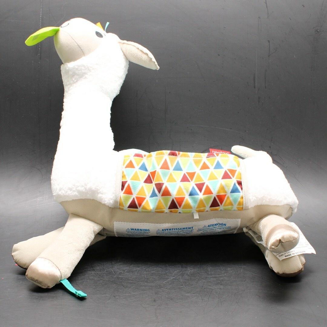 Plyšová hračka Fisher-Price lama