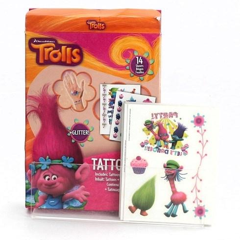 Nalepovací tetování Craze DreamWorks Trolls
