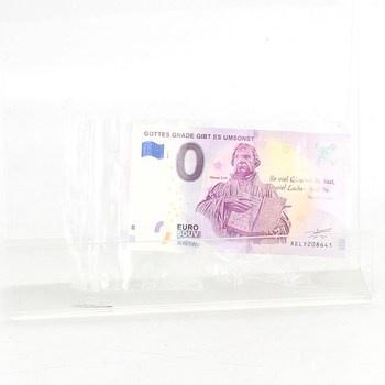 Sběratelská bankovka Martin Luther 0 Euro