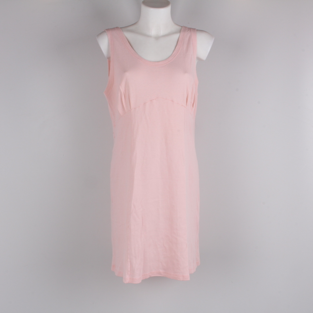 Dámské šaty bez rukávu růžové
