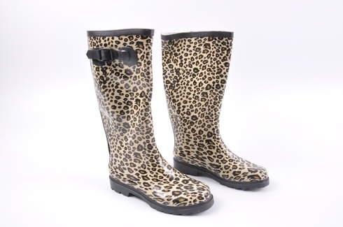 1589efc23e5 Dámské holínky leopardí - bazar