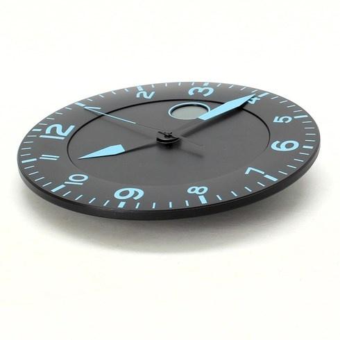 Nástěnné hodiny s teploměrem Alba