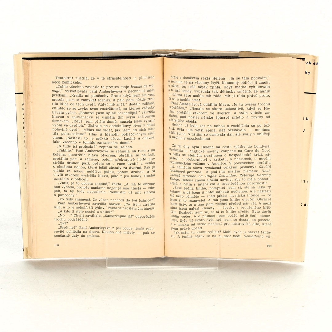 Kniha Aldous Huxley: Raněný slepotou