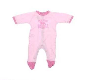 Dětský overal Lonsdale růžové barvy