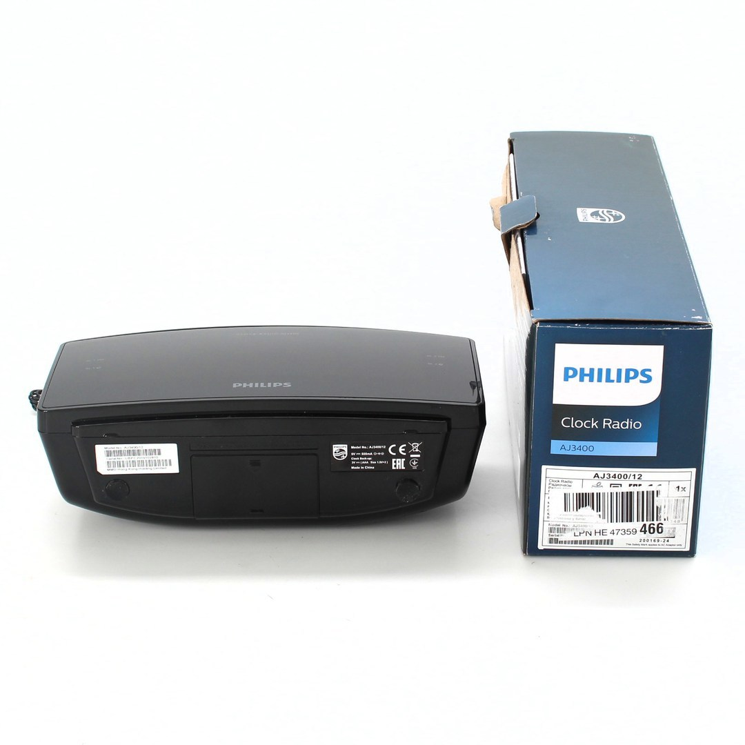 Radiobudík Philips AJ3400 černý