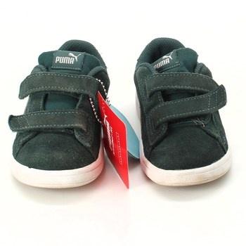 Dětské botasky Puma Soft foam semiš