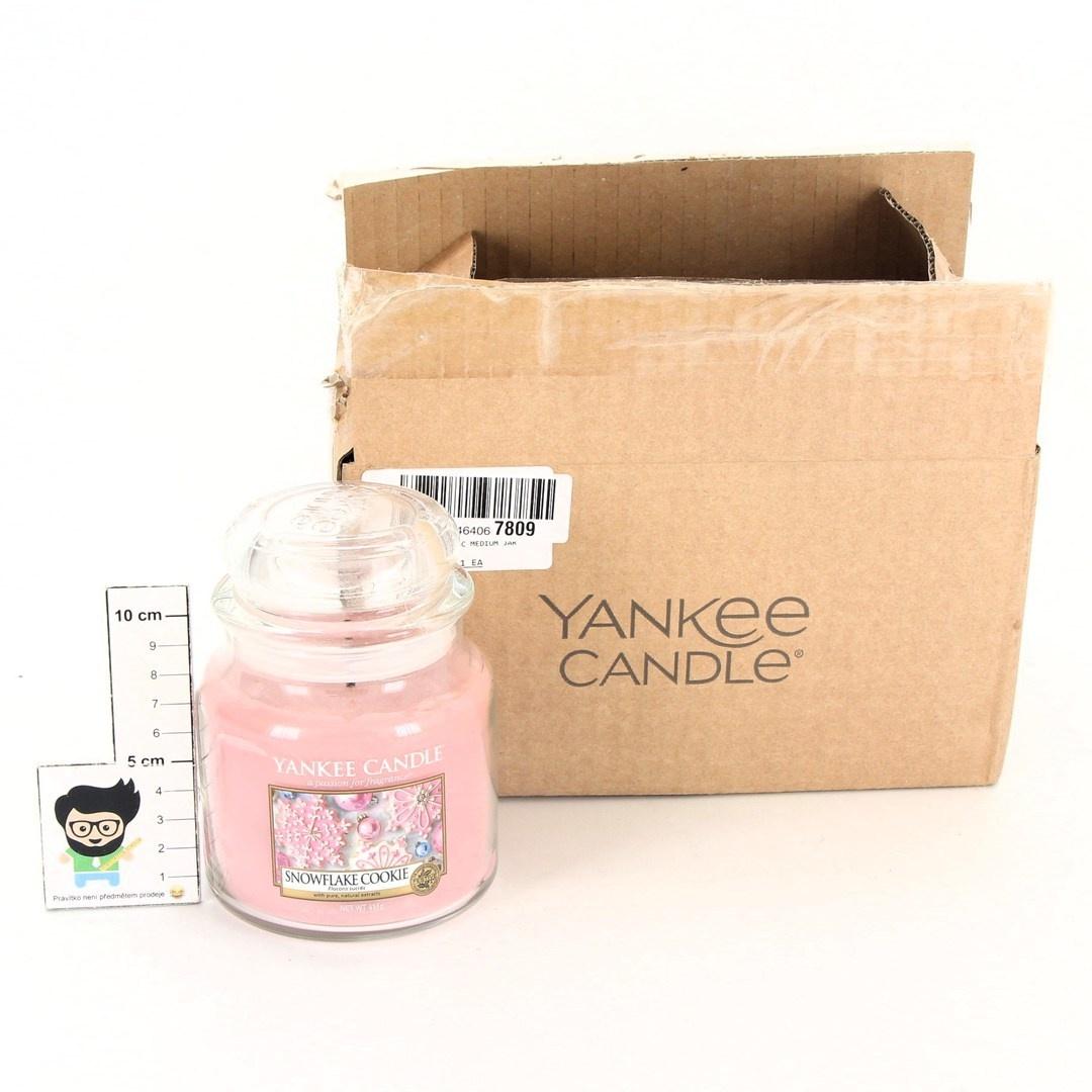 Vonná svíčka Yankee Candle Snowflake cookie