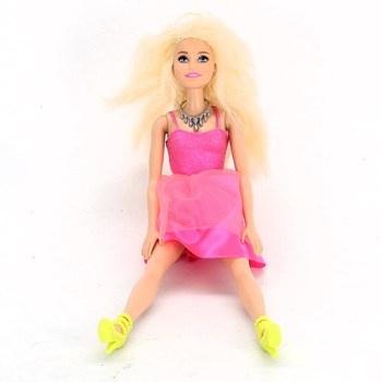 Barbie v růžových šatech Barbie DGX82