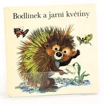 Dětská knížka Bodlínek a jarní květiny