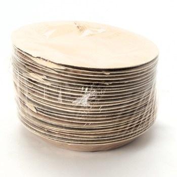 Sada talířů Biozoyg 25 cm 25 ks