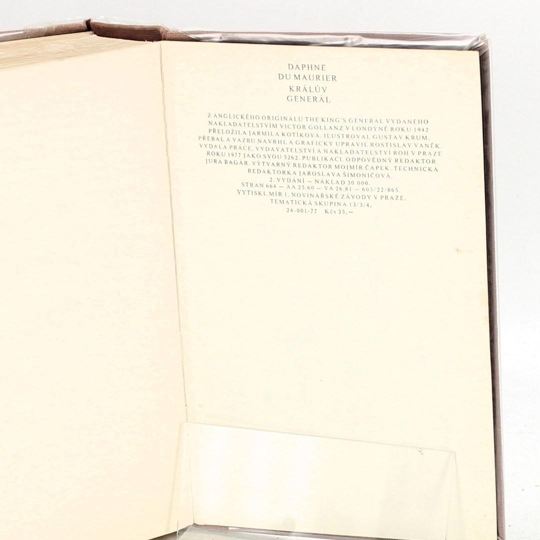 Kniha D. du Maurier: Králův generál