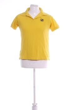 Pánské polo tričko Polo Club žluté