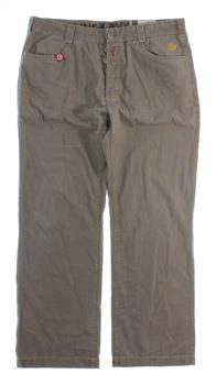 Pánské kalhoty ENVY&CO béžové s knoflíky