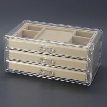 Plastová šperkovnice HerFav JS001