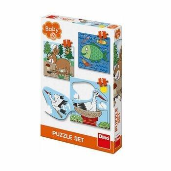 Puzzle set DINO 325111 zvířátka