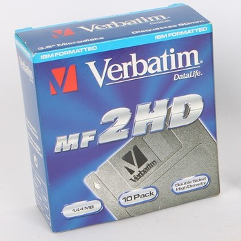 Diskety Verbatim DataLife MF 2HD 1,44 MB