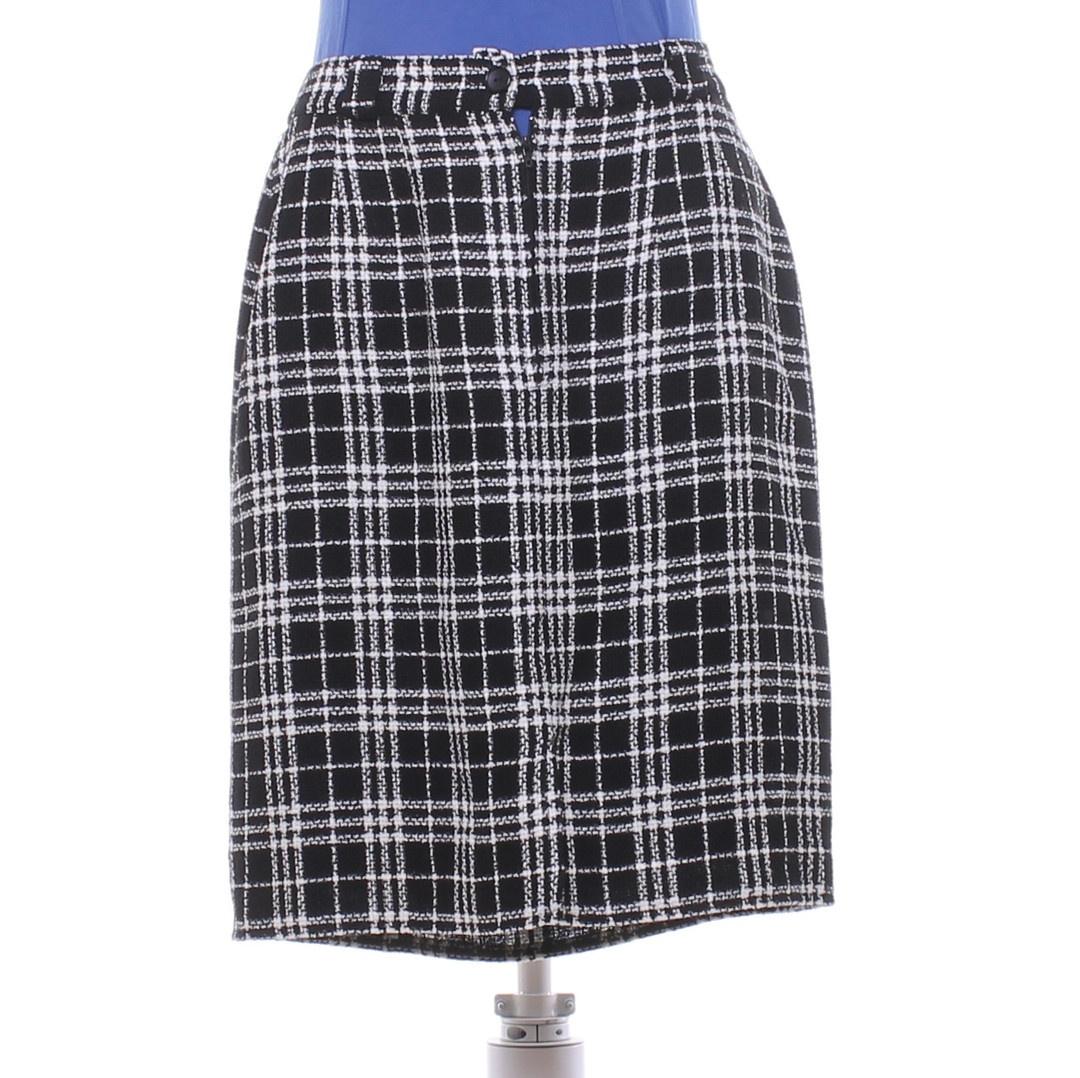 Dámská sukně BB černobílá