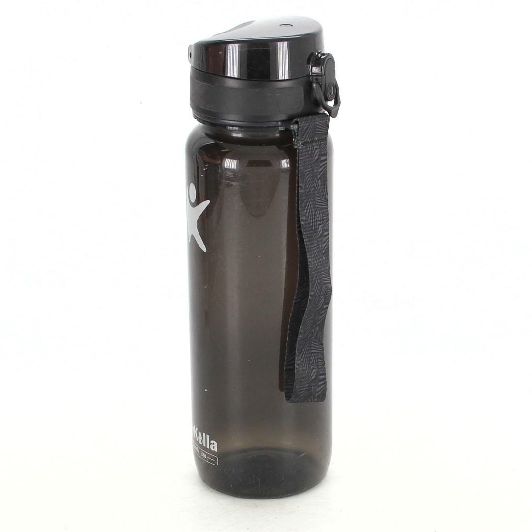 Láhev na pití KollyKolla černá