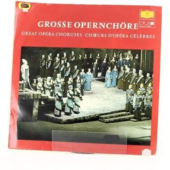 Gramofonová deska OPUS Grosse opernchöre