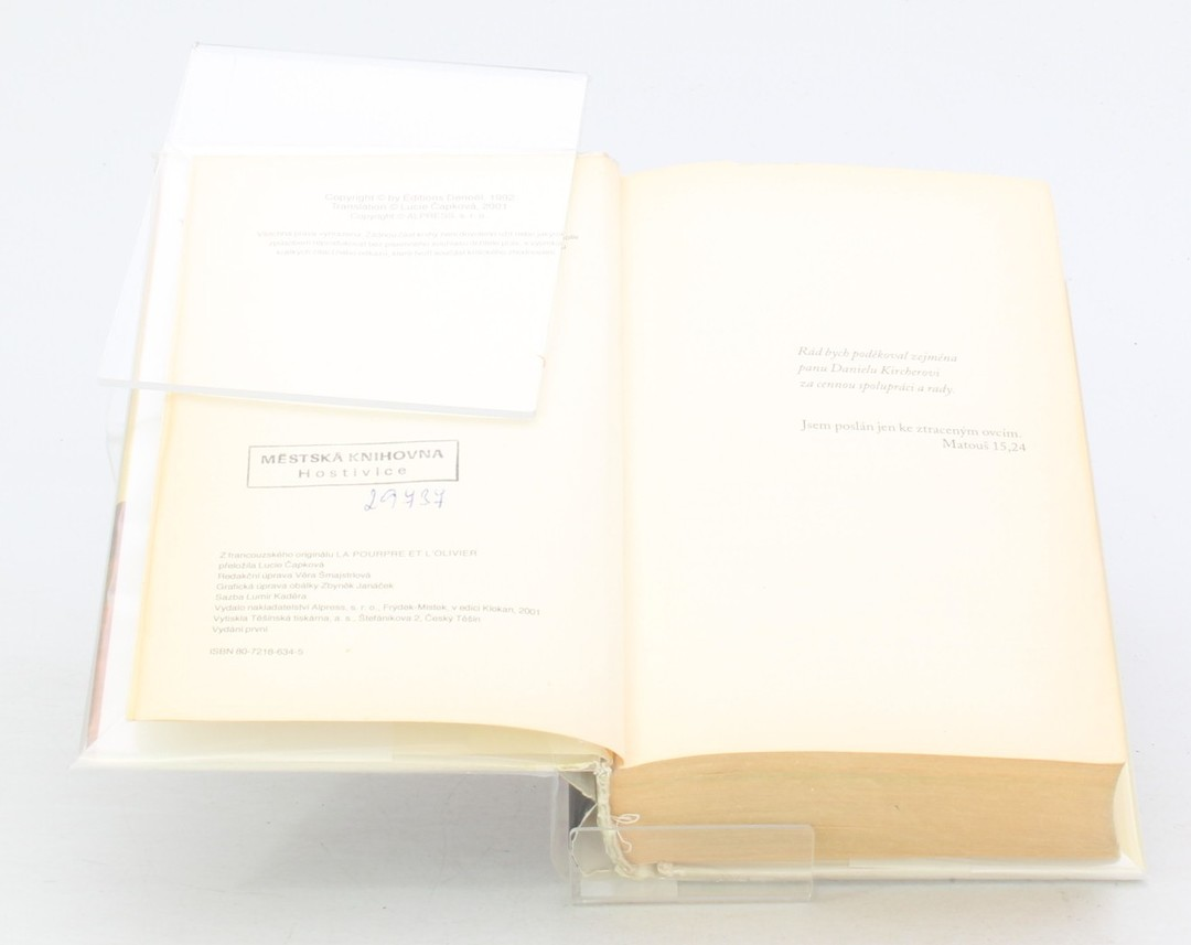 Kniha Gilbert Sinoué: Vyvolený otrok