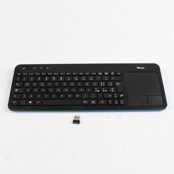 Bezdrátová klávesnice Trust 20964 černá