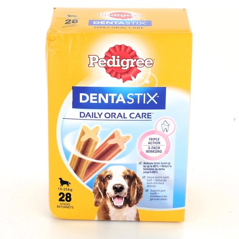 Snack Pedigree Dentastix 10-25 kg 28ks