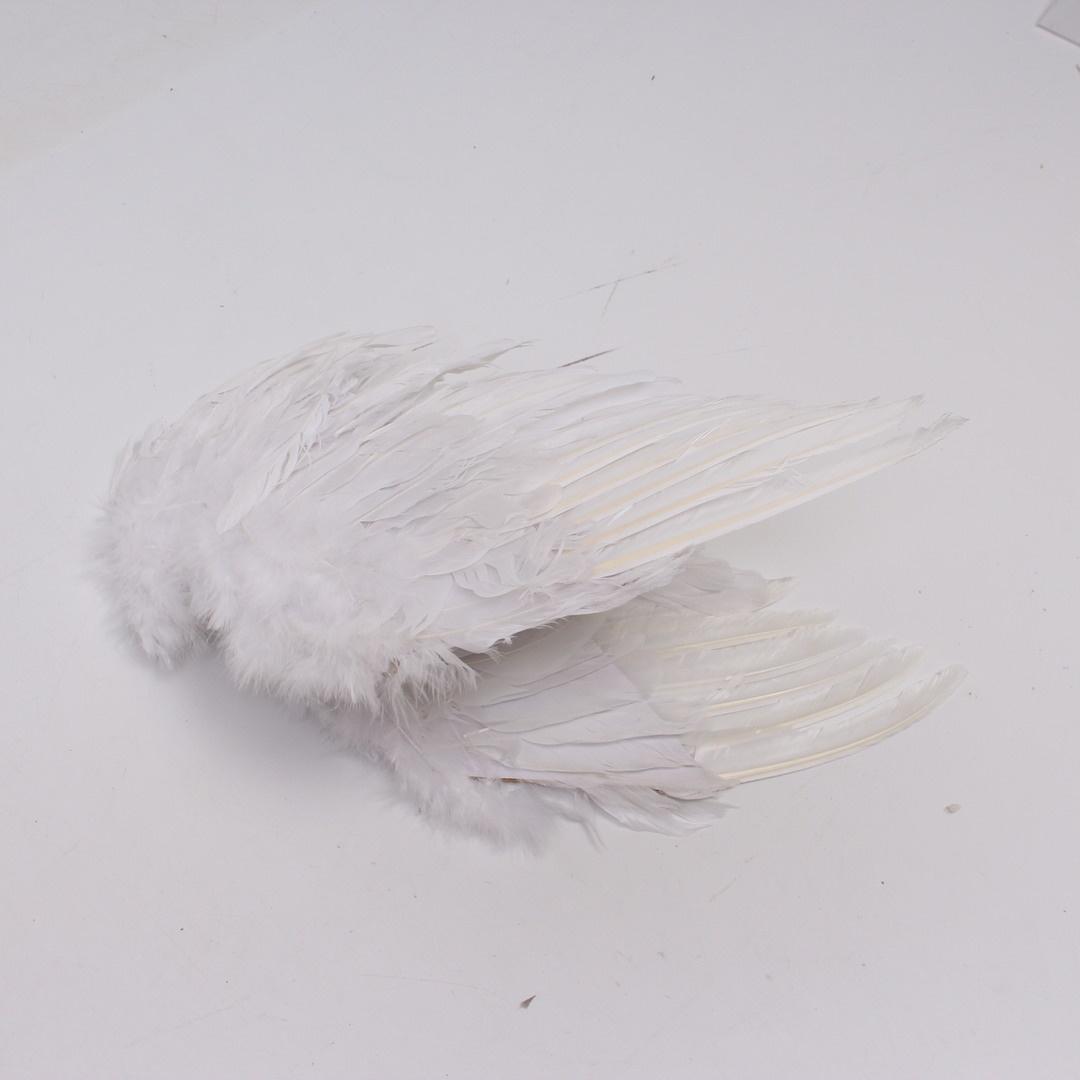 Andělská křídla z peří 8670A