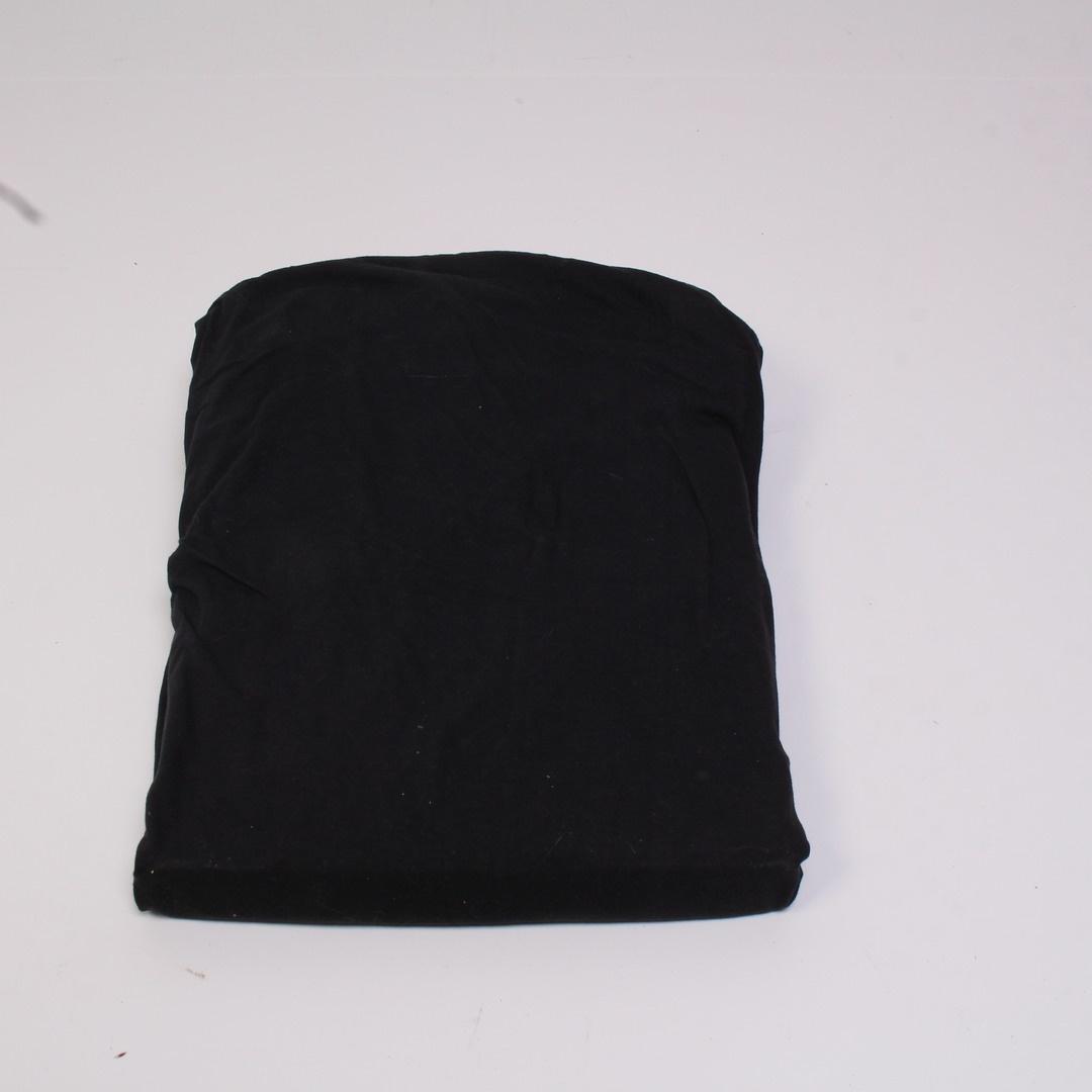 Jersey prostěradlo Biberna černé