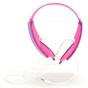 Náhlavní sluchátka JVC HA-KD5 růžové