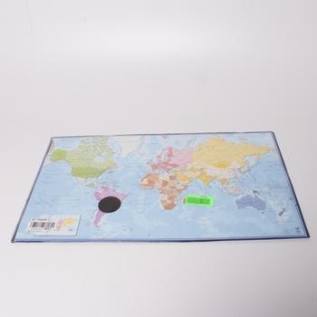 Mapa světa Viquel podložka na stůl