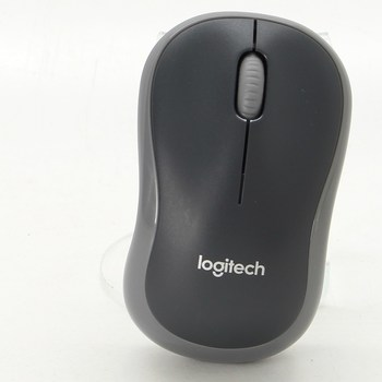 Bezdrátová myš Logitech M185 černá