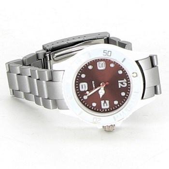 Pánské hodinky Quartz šedý mat