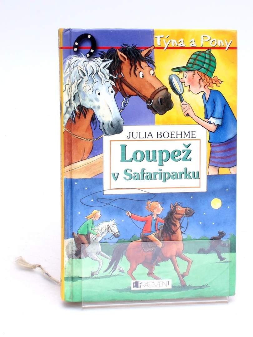 Kniha Loupež v Safariparku Julia Boehme