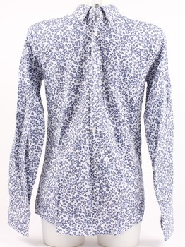 Pánská košile Akusawa, fialovo-bílá