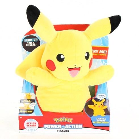 Plyšák Pokémon Pikachu Power Action