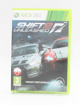 Hra na Xbox 360 - 	Shift 2 Unleashed